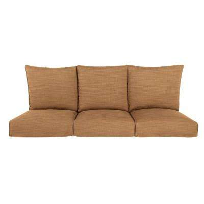 Highland Replacement Outdoor Sofa Cushion in Toffee