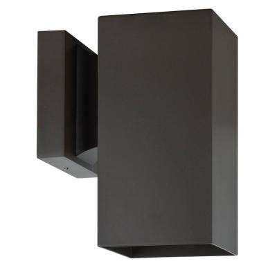 Architectural Outdoor 1-Light Oil Bronze Outdoor Wall Mount Sconce