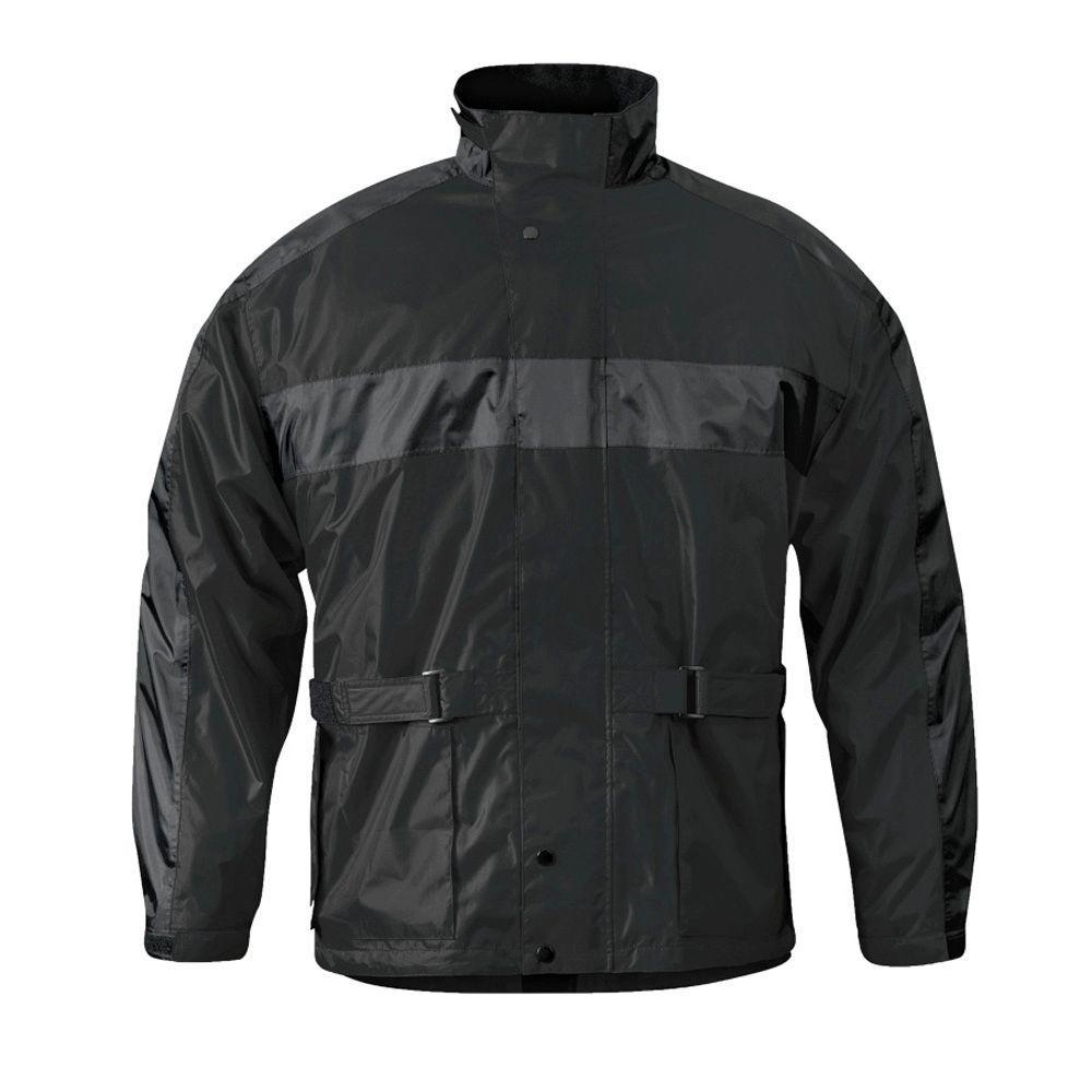Mossi Mens RX 2 X-Large Black Rain Jacket