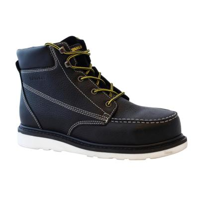 1a7b3085143 Stanley Operator Men's Size 7 Brown Leather Composite Toe 6 in. Work ...