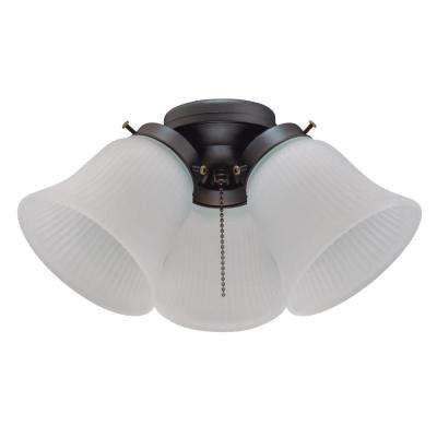 3-Light LED Cluster Ceiling Fan Light Kit