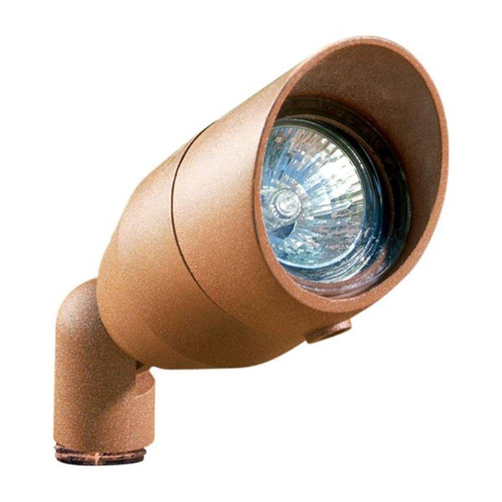 Skive 1-Light Dark Sand Outdoor Directional Spot Light