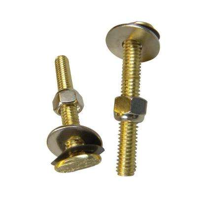 5/16 in. x 3.5 in. Steel Closet Bolt Assembly