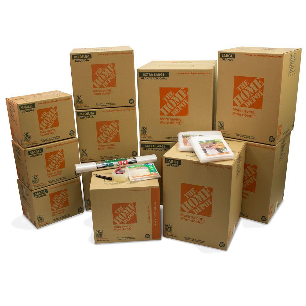 11-Box Bedroom Moving Kit
