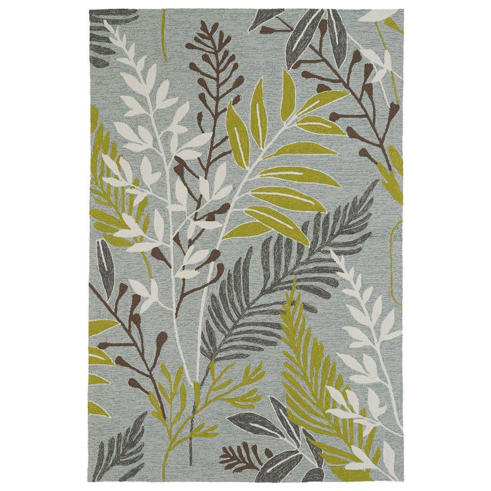 Kaleen Home and Porch Wasabi 3 ft. x 5 ft. Indoor/Outdoor Area Rug