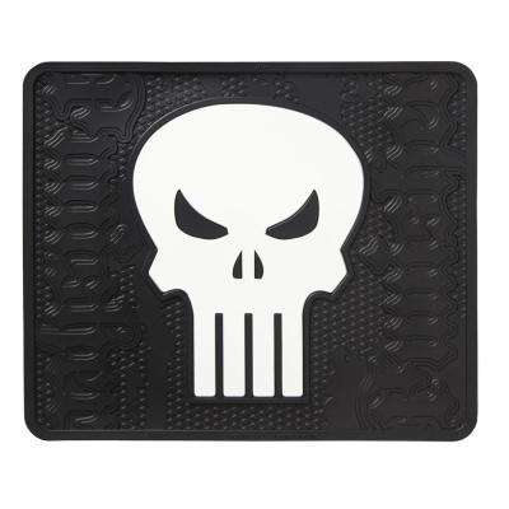 Marvel Punisher Heavy Duty 17 in. x 14 in. Vinyl Utility Car Mat