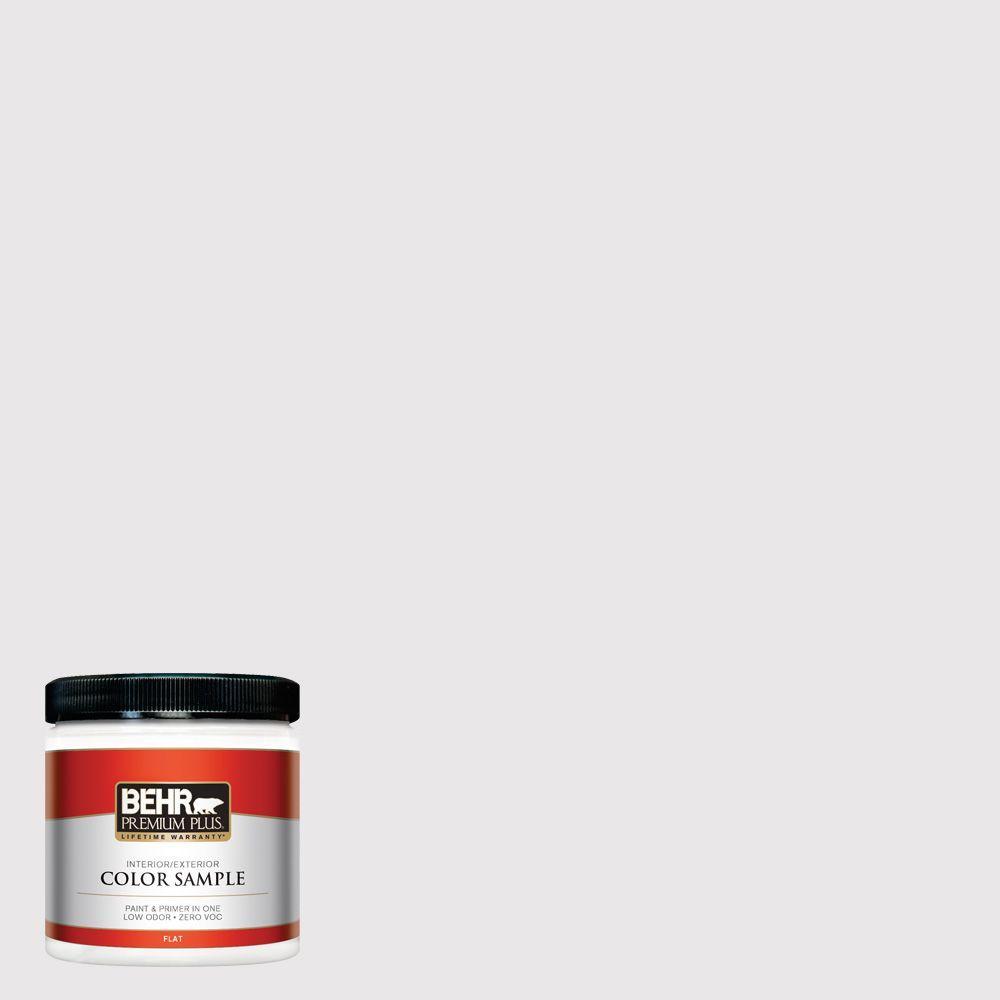 BEHR Premium Plus 8 oz. #PR-W3 Melodic White Interior/Exterior Paint Sample