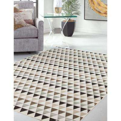 Sonoma Brentwood Ivory 5 ft. 3 in. x 7 ft. 6 in. Area Rug