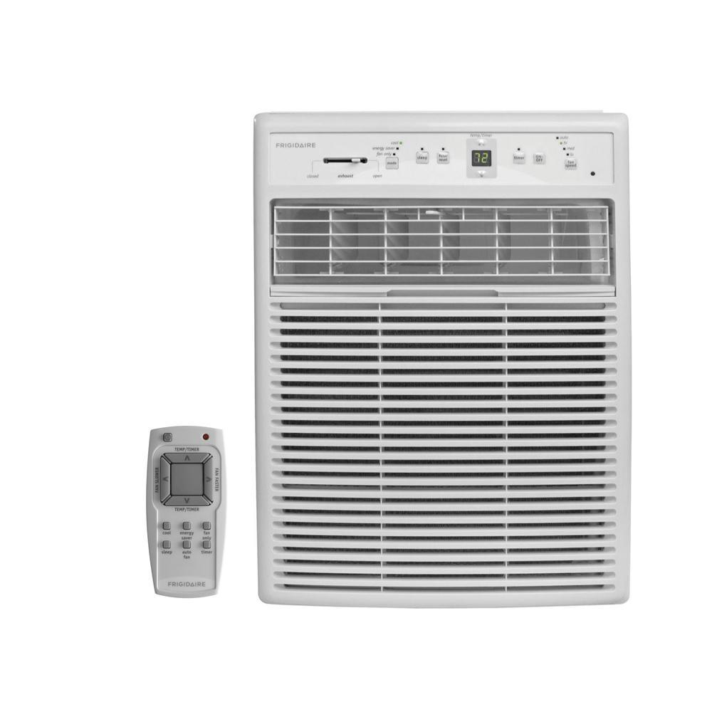 10,000 BTU Casement Window Air Conditioner with Remote
