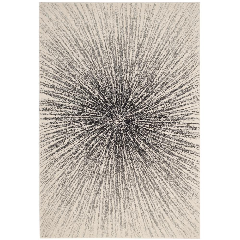 Evoke Black/Ivory 9 ft. x 12 ft. Area Rug