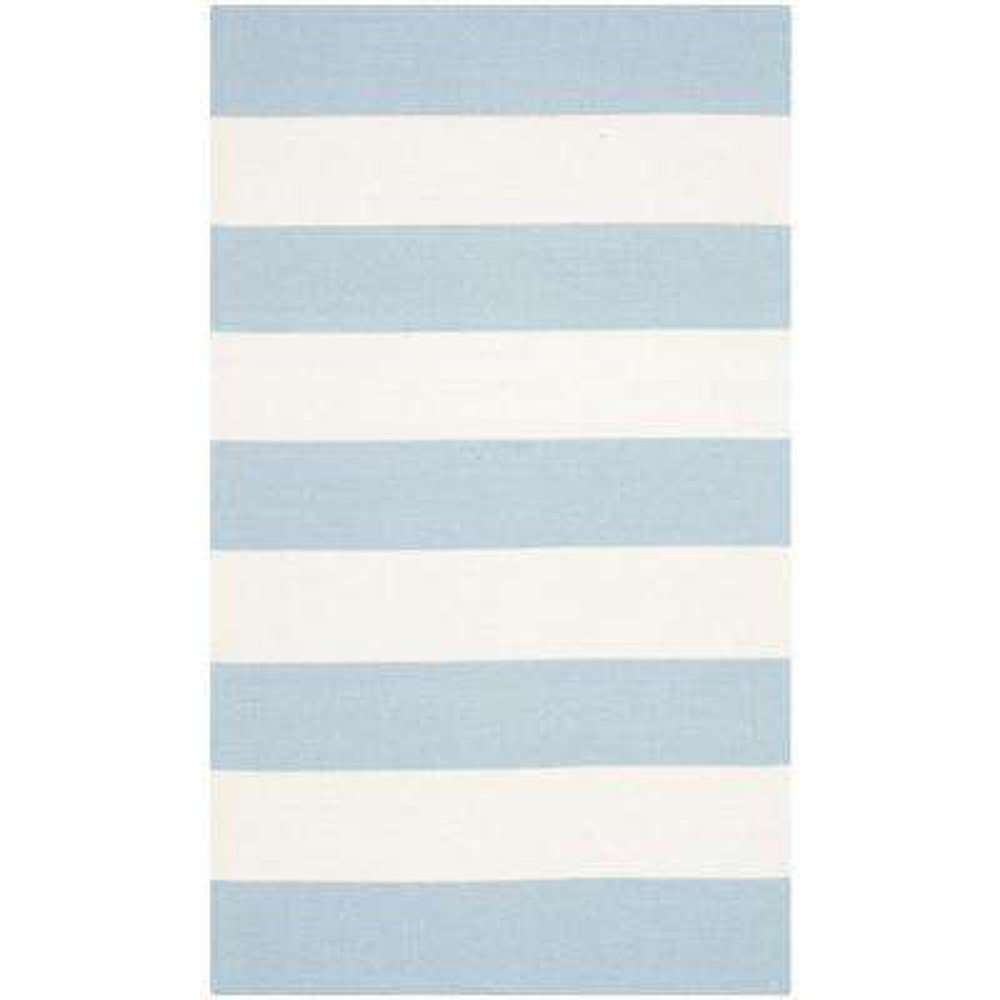 Montauk Sky Blue/Ivory 2 ft. 6 in. x 4 ft. Area Rug