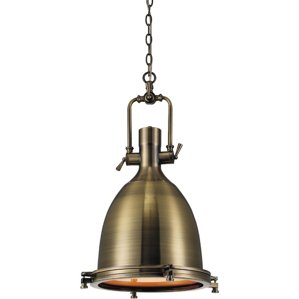 CWI Lighting Show 1-Light Antique Bronze Pendant-9602P14-1-604 - The ...