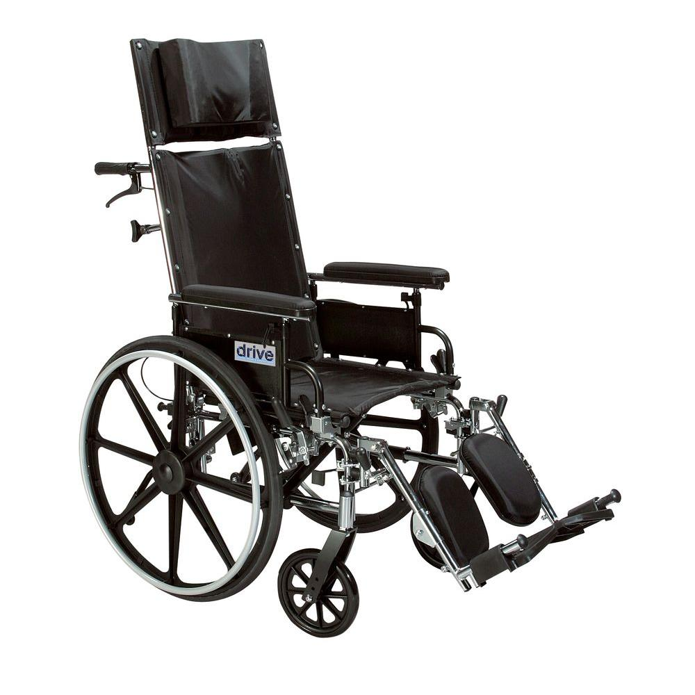 Drive Viper Plus GT Full Reclining Wheelchair with 20 in....