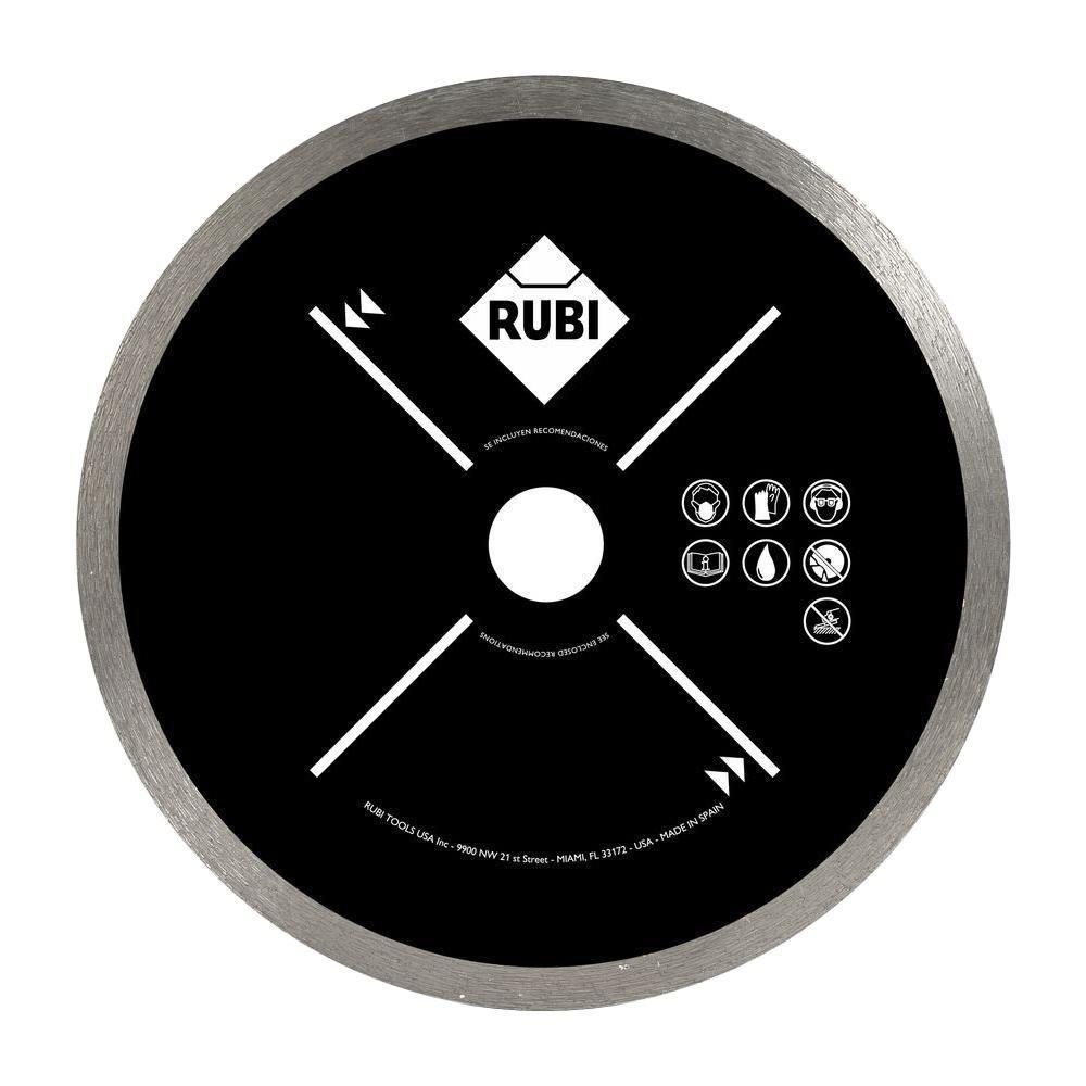 Rubi 10 in. Tile Saw Blade