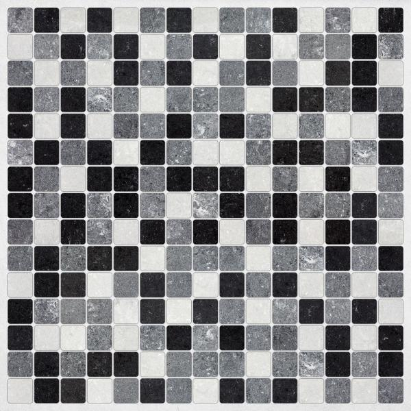 Brewster Black and White Peel and Stick Decal Tiles CR-31313