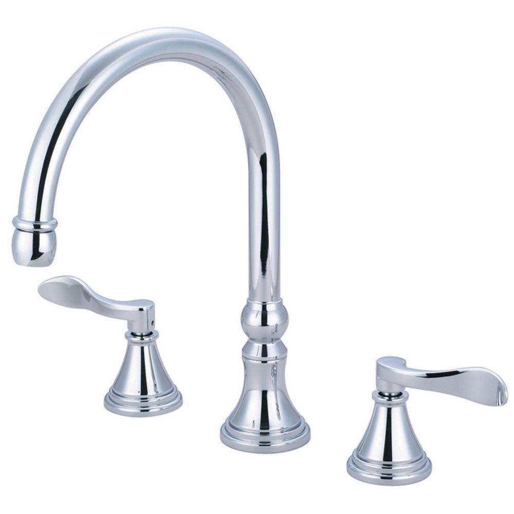 glacier bay roman tub faucet. French 2 Handle Deck Mount Roman Tub Faucet in Polished Chrome Glacier Bay Varina