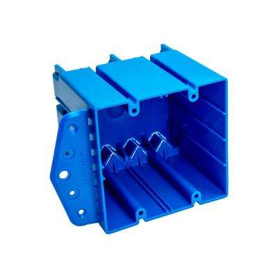 2-Gang 47 cu. in. PVC New/Old Work Electrical Box (Case of 12)