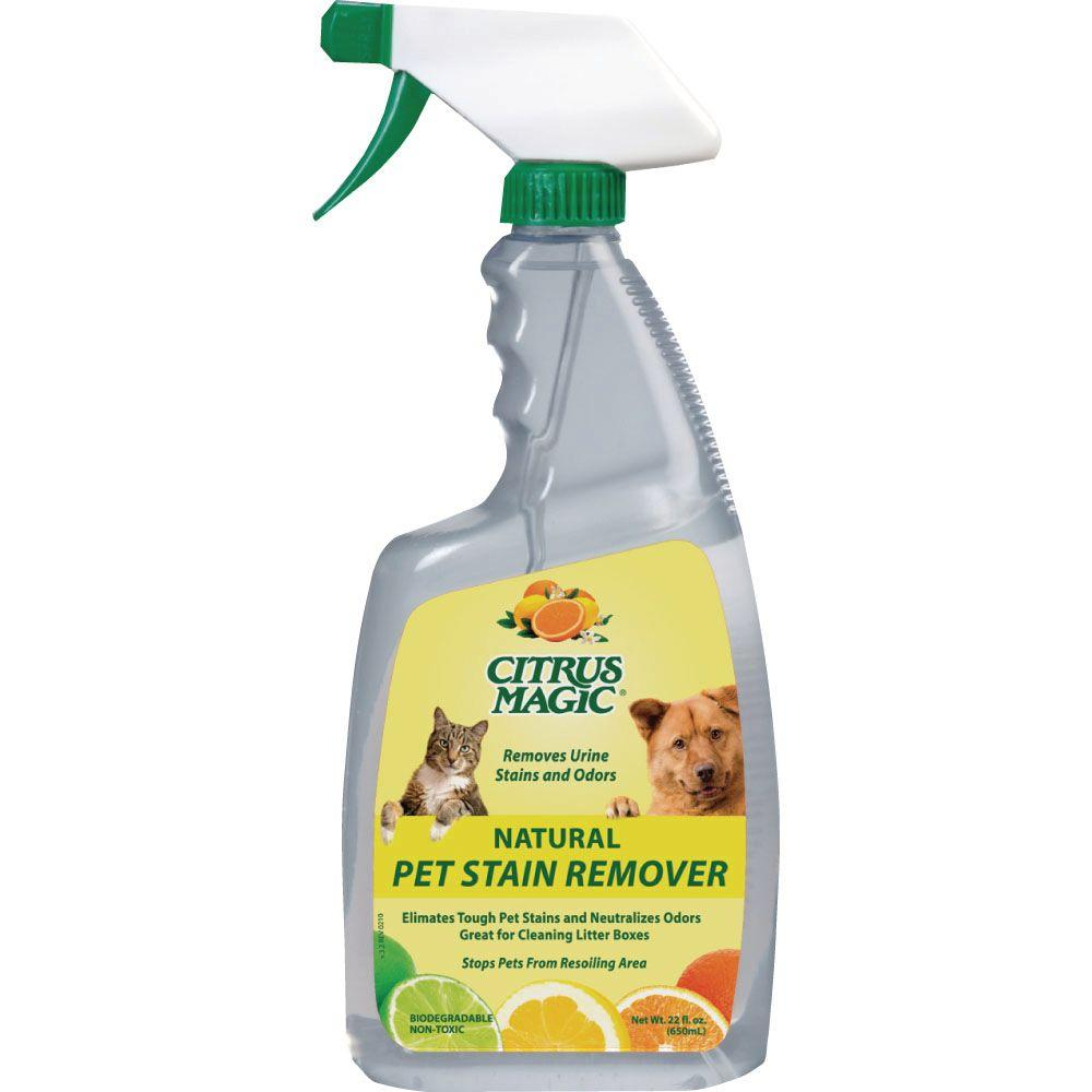 Citrus Magic 22 Oz All Natural Pet Stain Remover 2 Pack