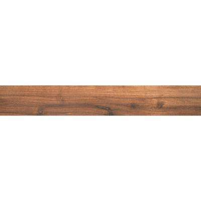 Arbor Chestnut 6 in. x 36 in. Porcelain Floor and Wall Tile (15 sq. ft. / case)