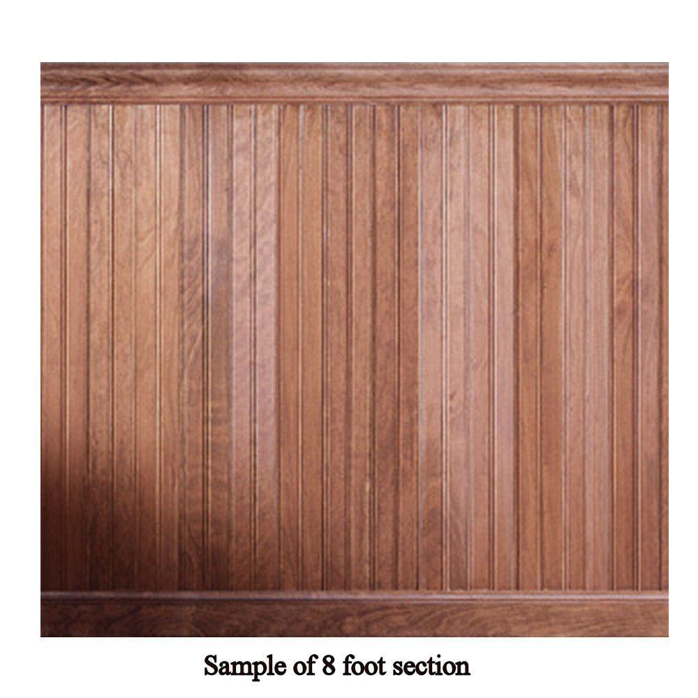 House of Fara 8 Linear ft. Cherry Tongue and Groove Wainscot Paneling