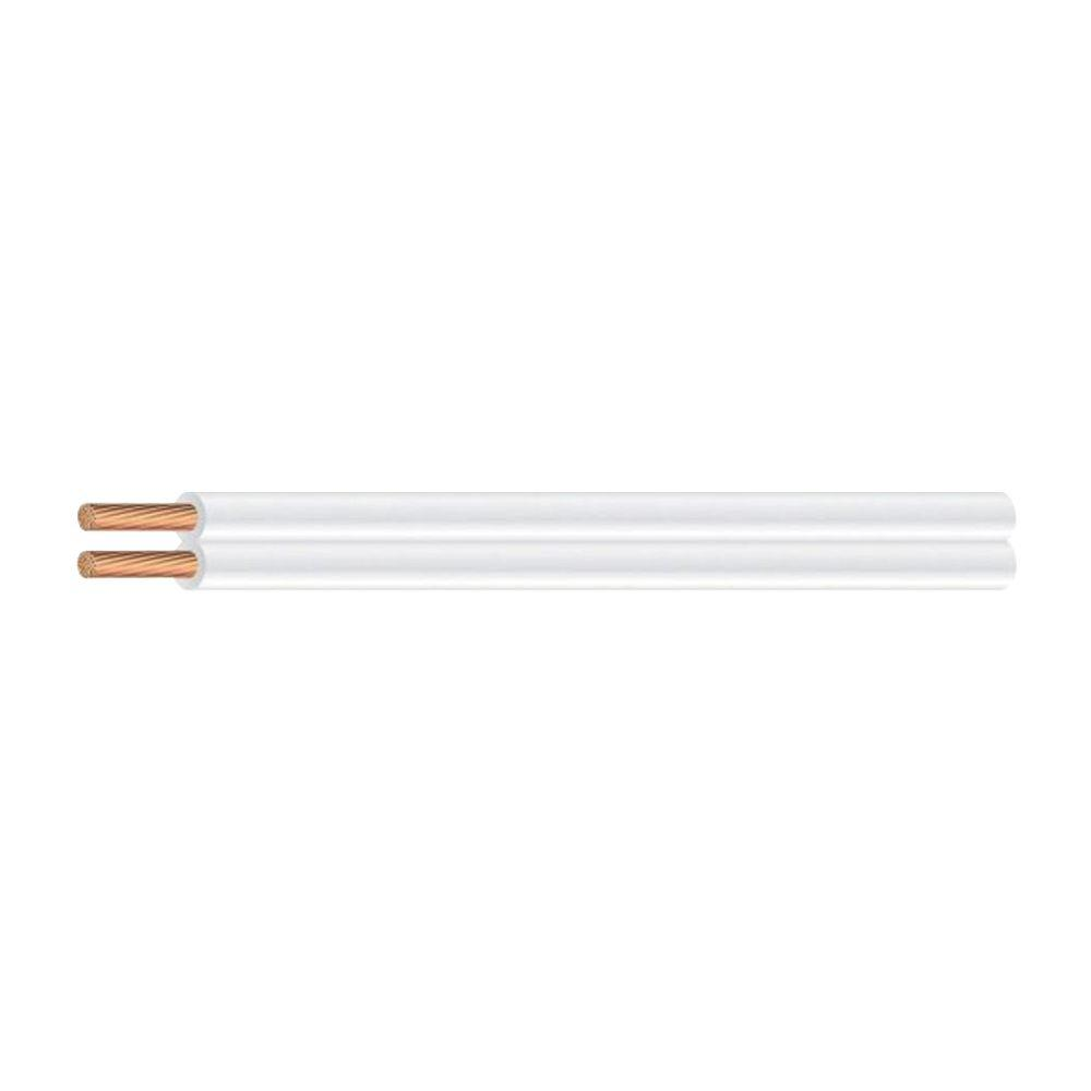 Southwire (By-the-Foot)16/2 White Stranded CU SPT-2 Lamp Wire
