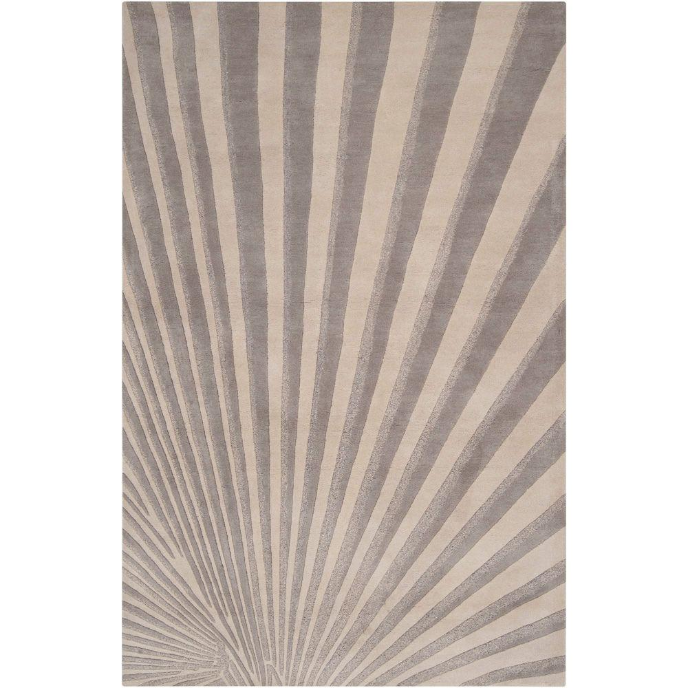 Candice Olson Oyster Gray 8 ft. x 11 ft. Area Rug