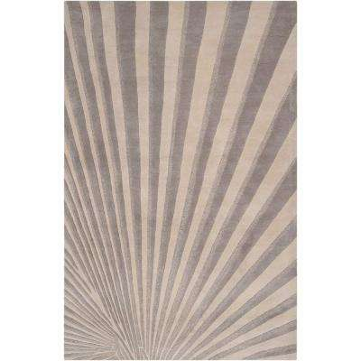 Candice Olson Oyster Gray 9 ft. x 13 ft. Area Rug