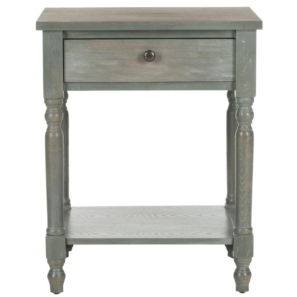 Safavieh Tami French Grey Storage End Table