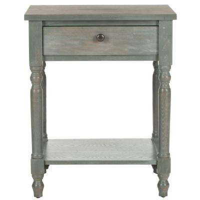 Tami French Grey Storage End Table