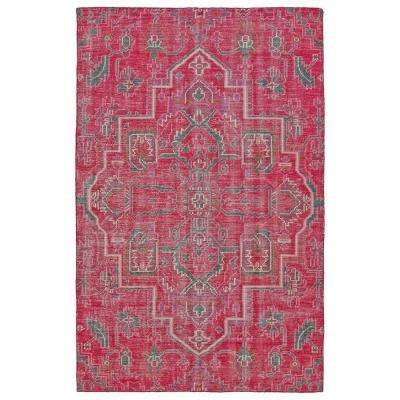 Relic Pink 6 ft. x 9 ft. Area Rug