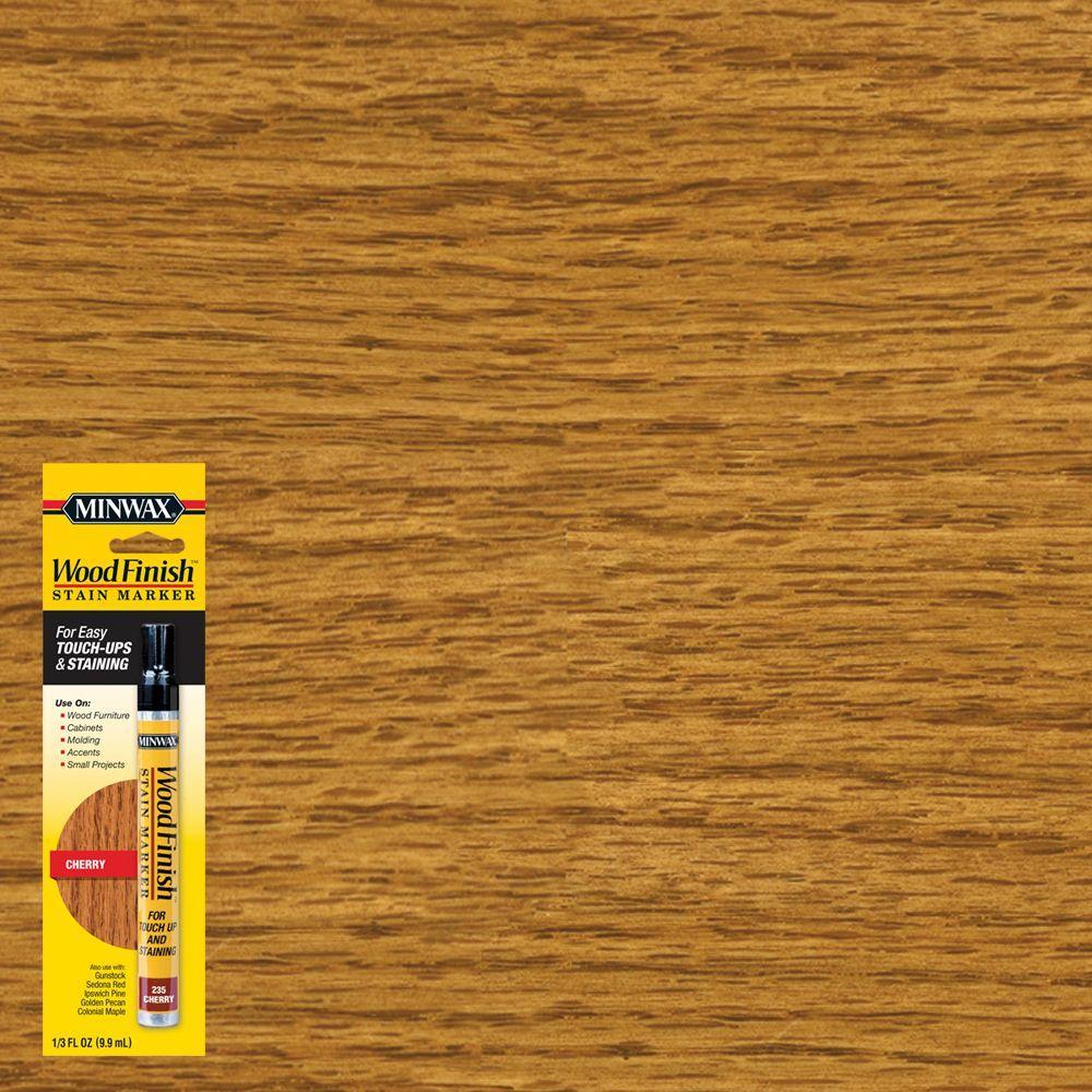 Minwax 1/3 oz. Wood Finish Cherry Stain Marker