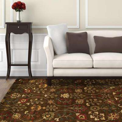 Provencial Autumn Wool 9 ft. x 12 ft. Area Rug