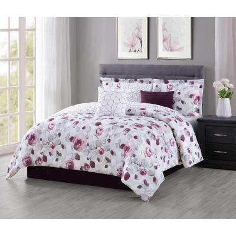 Graceview 7-Piece Queen Comforter Set