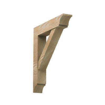 3-1/2 in. x 24 in. x 22 in. Polyurethane Timber Bracket