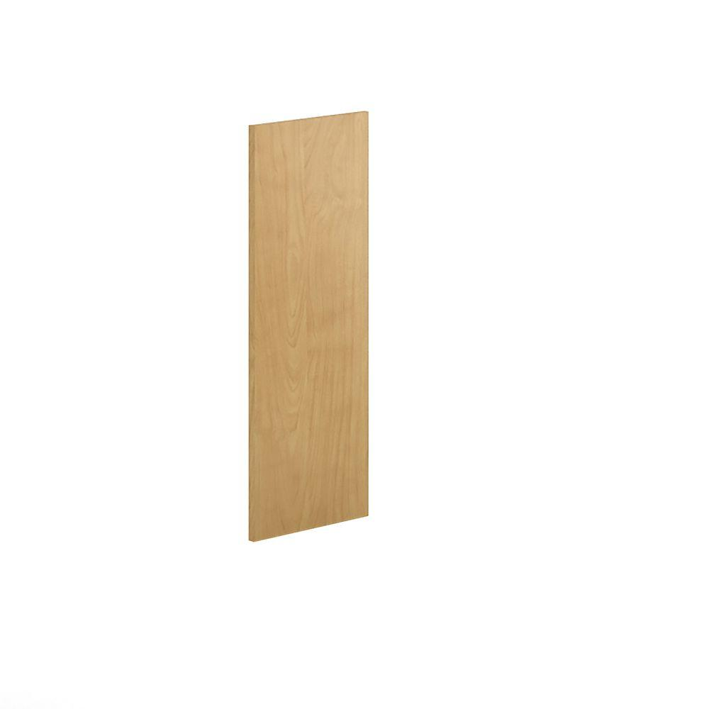 12x30x0.75 in. Replacement End Panel in Natural Maple Veneer