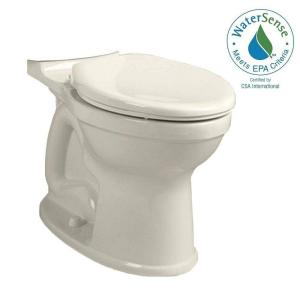 American Standard Champion 4 High Efficiency Right Height Elongated Toilet Bowl Only in Linen by American Standard