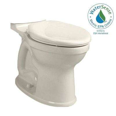 Champion 4 High Efficiency Tall Height Elongated Toilet Bowl Only in Linen