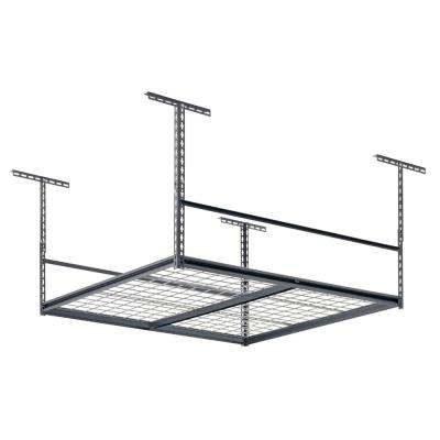 48 in. L x 48 in. W x 28 in. H Overhead Ceiling Mount Storage Rack