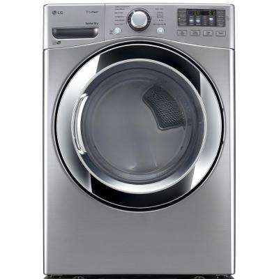 7.4 cu. ft. Electric Dryer with Steam in Graphite Steel, ENERGY STAR