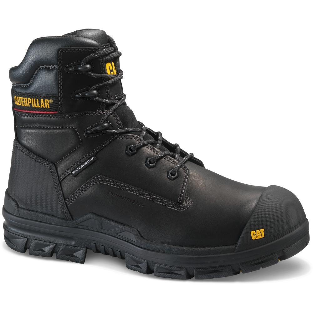 33a886a8009 CAT Footwear Crossbar Men's Size 11.5M Black Composite Toe Boots