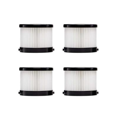 HEPA Dry Replacement Filters (4-Pack)
