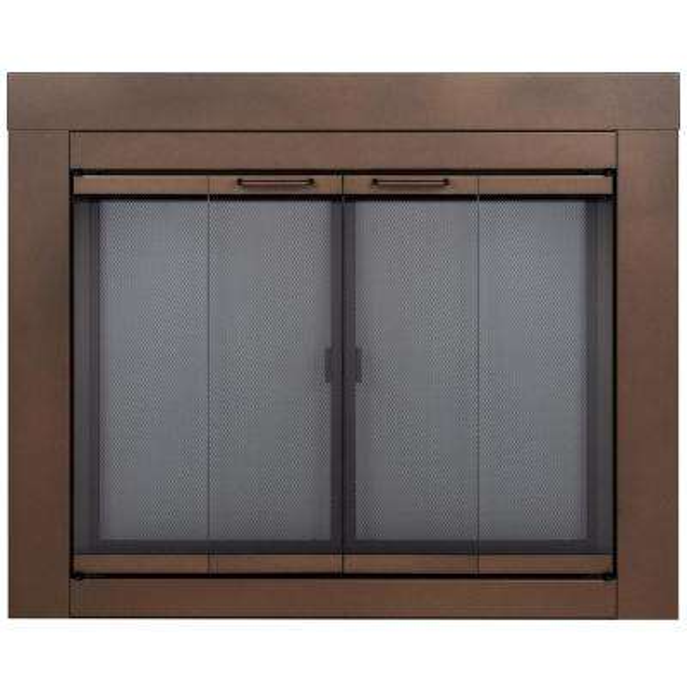Abberly Medium Glass Fireplace Doors