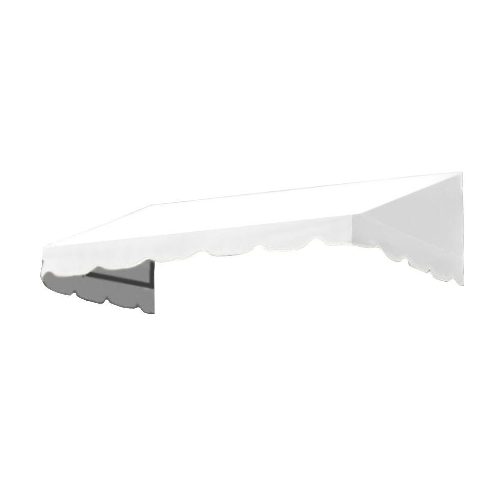 AWNTECH 6 ft. San Francisco Window Awning (44 in. H x 24 in. D) in Off-White