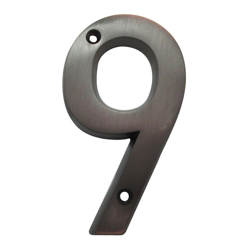 "3/"" Reflective Numbers Kit ? Hillman #843445"
