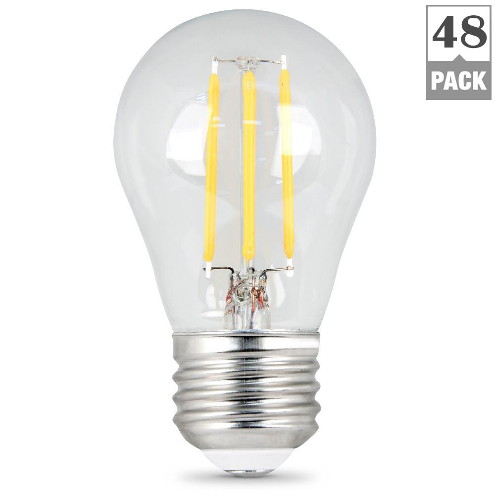 Feit Electric 40w Equivalent Soft White 2700k T10: Feit Electric 40W Equivalent Soft White (2700K) A15