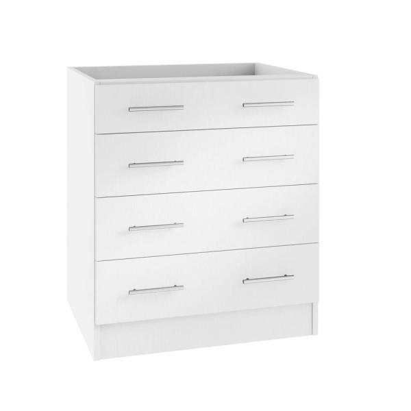 Weatherstrong Assembled 36x34 5x24 In Naples Island Outdoor Kitchen Base Cabinet With 4 Drawers In Radiant White Wsib4d36 Nrw The Home Depot