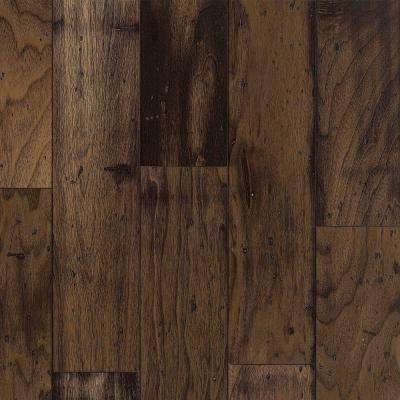 Cliffton Exotics Mesa Brown Walnut Engineered Hardwood Flooring - 5 in. x 7 in. Take Home Sample
