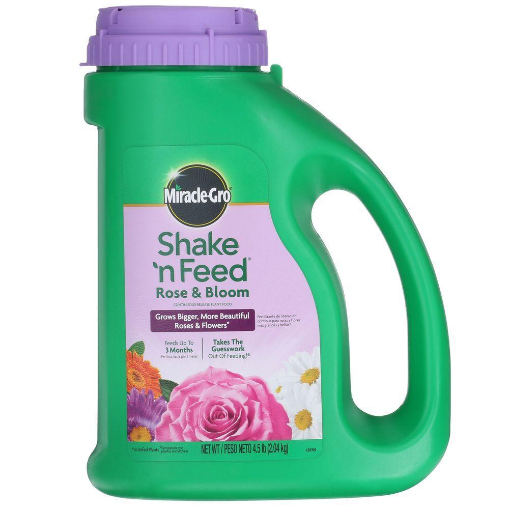 4.5 lb. Shake N Feed Rose Food