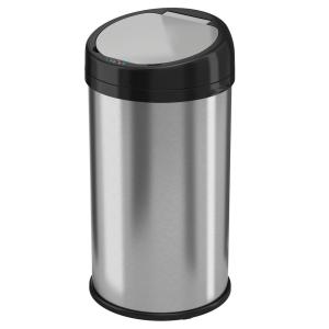 Halo 13 Gal Round Extra Wide Opening Stainless Steel