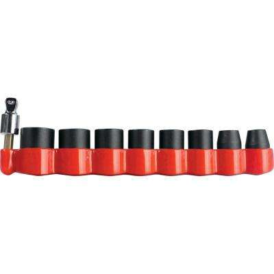 Impact GOLD 3/8 in. 6-Point Metric Impact Socket Set with 15° Tilt Socket Adapter (9-Piece)